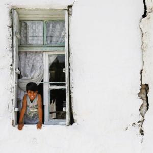 HAPPY LOOKING FROM THE WINDOW MANISA TURKEY - 9