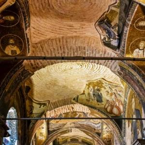 A VIEW FROM CHORA CHURCH MUSEUM ISTANBUL TURKEY - 0