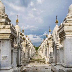 KUTHODAW TEMPLE MANDALAY MYANMAR (BURMA) - 10