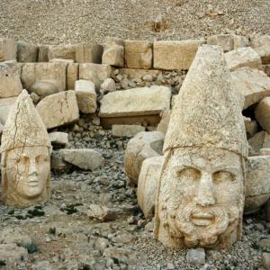 NEMRUT MOUNTAIN ADIYAMAN TURKEY  - 11