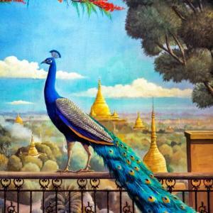 DUVAR RESMİ MYANMAR (BURMA) - 6