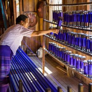 INLE GÖLÜNDEKİ ATÖLYELERDEN MYANMAR (BURMA) - 7