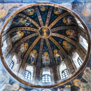 A VIEW FROM CHORA CHURCH MUSEUM ISTANBUL TURKEY - 1