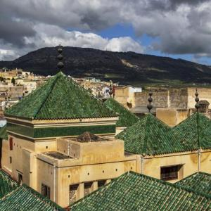 A VIEW OF FEZ CITY MAROCCO - 2