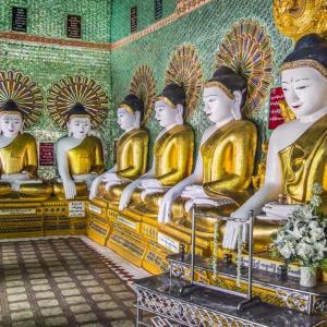 BUDA TAPINAĞI SAGAING MYANMAR (BURMA) - 10