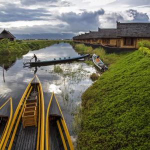 INLE LAKE MYANMAR (BURMA) - 3